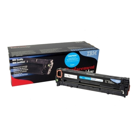 IBM TG95P6581 COLOR LASER TONER HP CF381A MAVİ